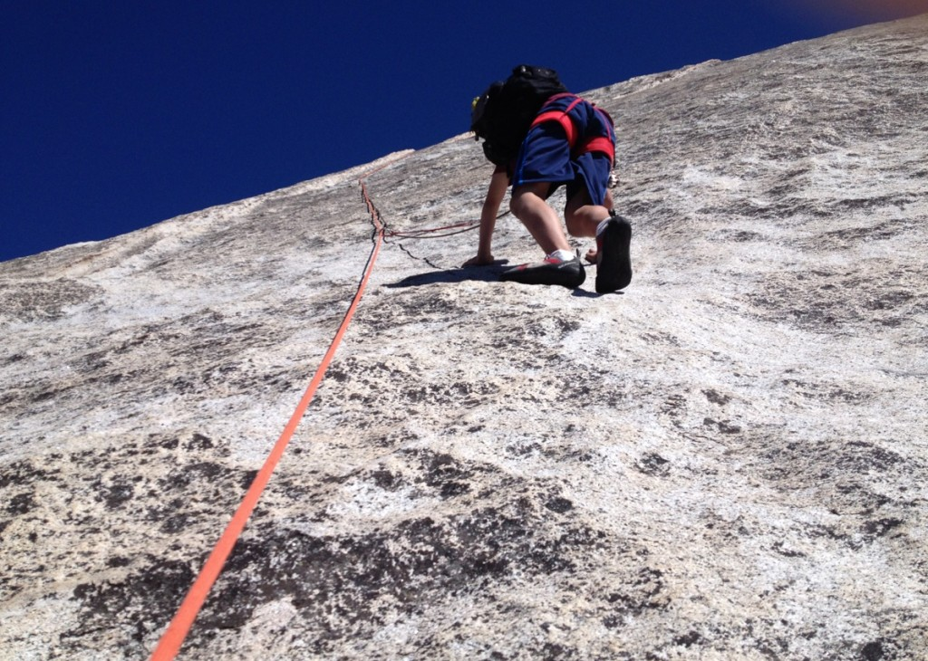 Friction traverse on pitch 3