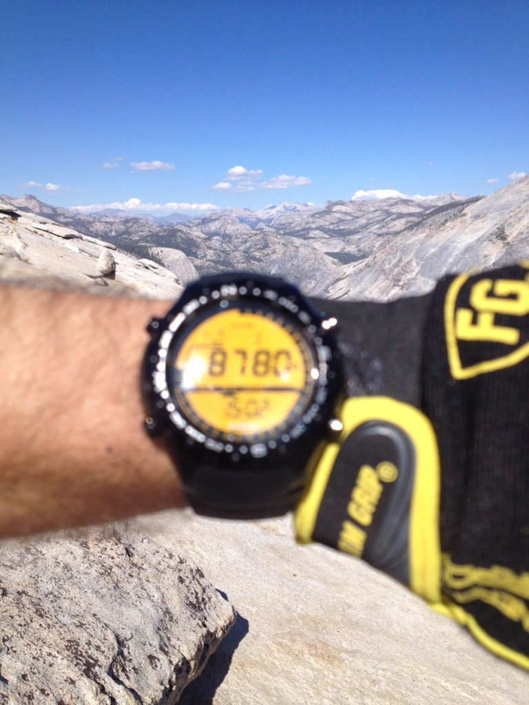 My altimeter is a little off, actual summit is 8840.